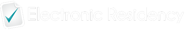Electronic Residency Logo